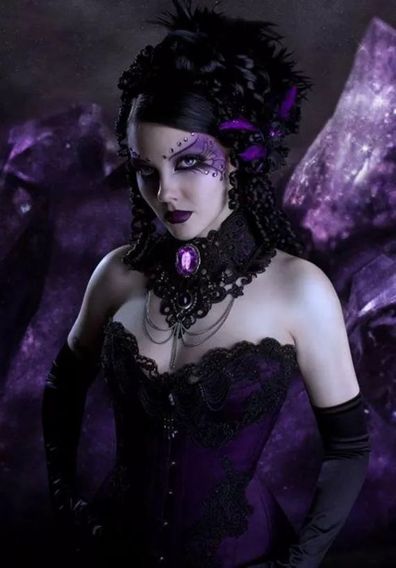 Dark purple paint