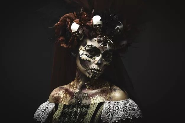 Carnival witch paint
