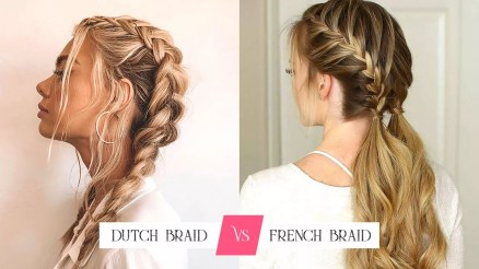 Dutch Braid Vs French Braid - ibeautyguide