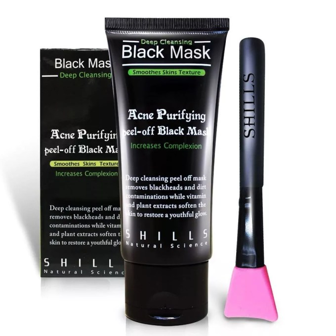 SHILLS Black Peel Off Blackhead Remover Mask