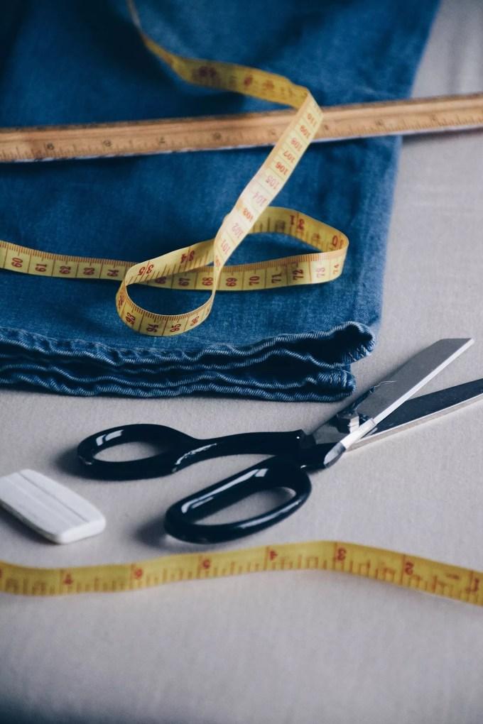 Measure the heel