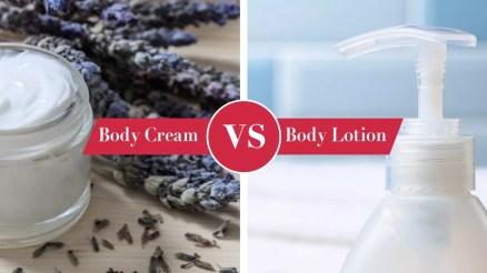 body cream vs body lotion tf