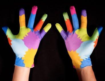 Movimiento gestual con las manos conocido como diadococinesias