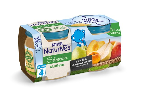 3D NaturNes Tarrito Frutas - Multifrutas 2x200g 201407