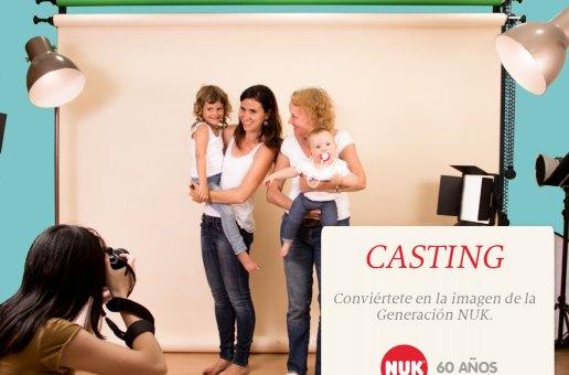 Tú y tu familia podéis ser la nueva imagen de NUK por su 60 aniversario