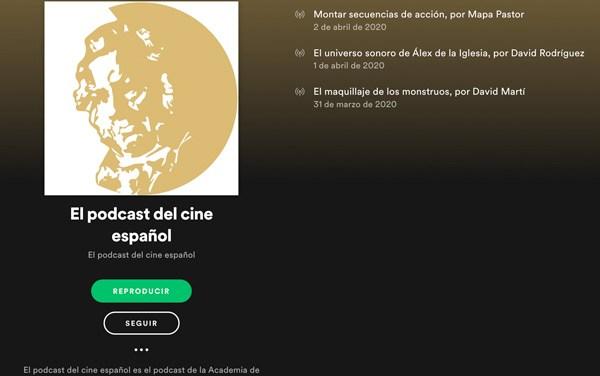 """Lanzan """"El podcast del cine español"""""""