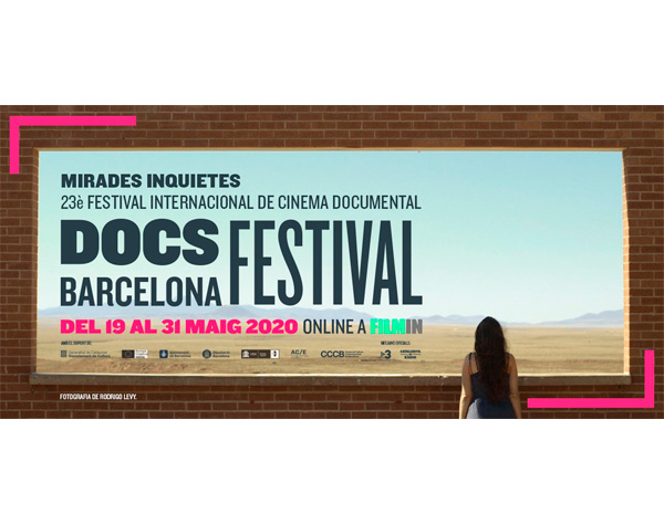 35 documentales participarán enDocsBarcelona «online»