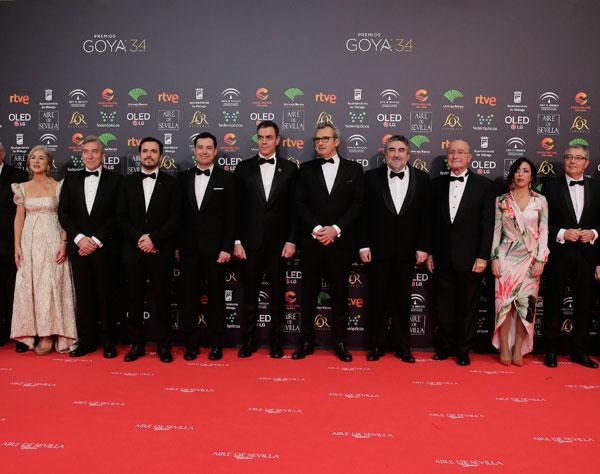 Covid-19: Los Goya 2021 permitirán competir excepcionalmente a estrenos online