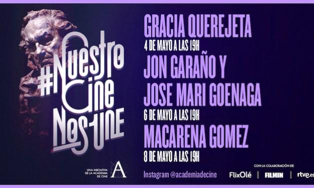 España: Academia ofrece esta semana nuevos encuentros con cineastas