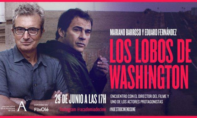 Concluye #NuestroCineNosUne con charla entre Mariano Barroso y Eduard Fernández