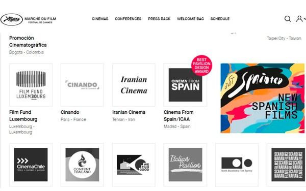 Cannes: España gana el premio a mejor pabellón virtual
