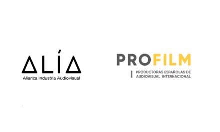 ALIA y PROFILM se asocian para promover rodajes internacionales en España