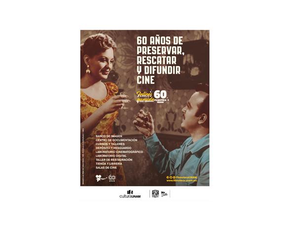 México: Filmoteca de la UNAM cumple 60 años