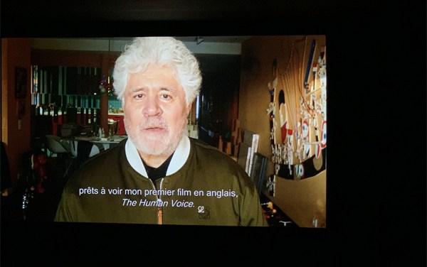 "Almodóvar clausura Festival Lumière con ""La voz humana"""