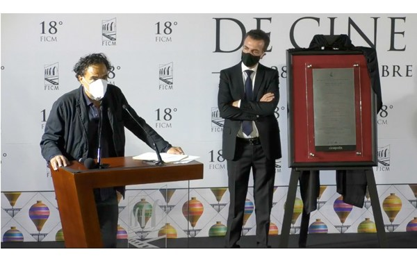"""Iñárritu inaugura Morelia con versión restaurada de """"Amores Perros"""""""