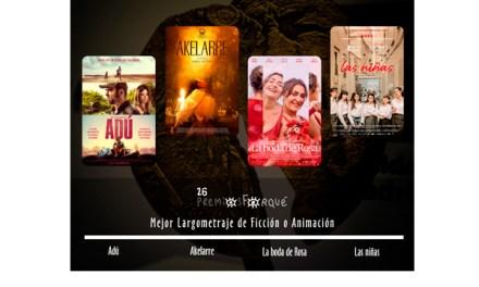 Premios Forqué presentan nominaciones de su 26 edición