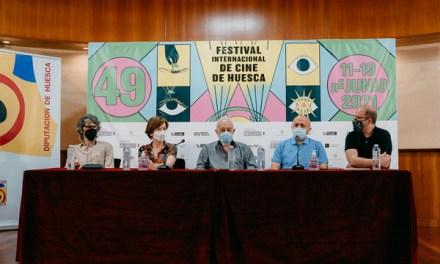 Gonzalo Suárez recibe Premio Luis Buñuel del Festival de Huesca