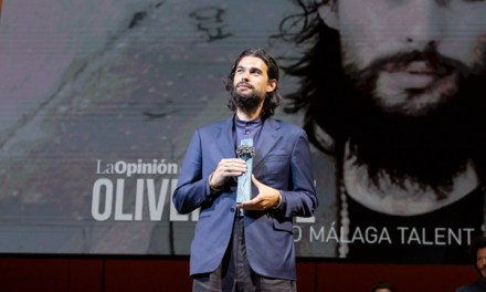 OLIVER LAXE RECIBE EL PREMIO MÁLAGA TALENT