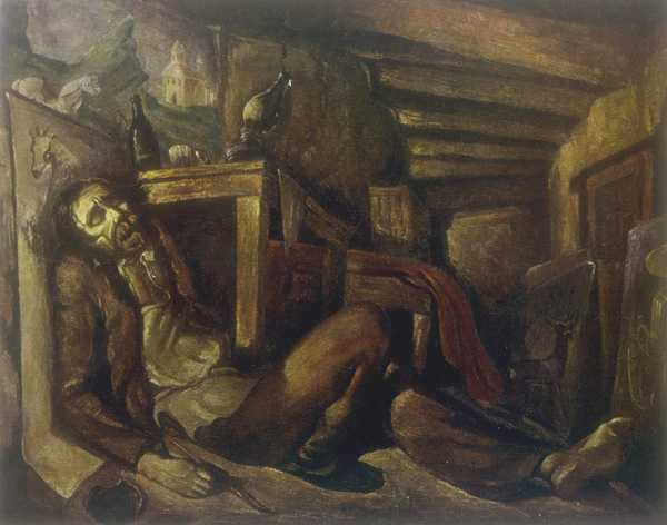 The Death of Niko Pirosmani (1946)
