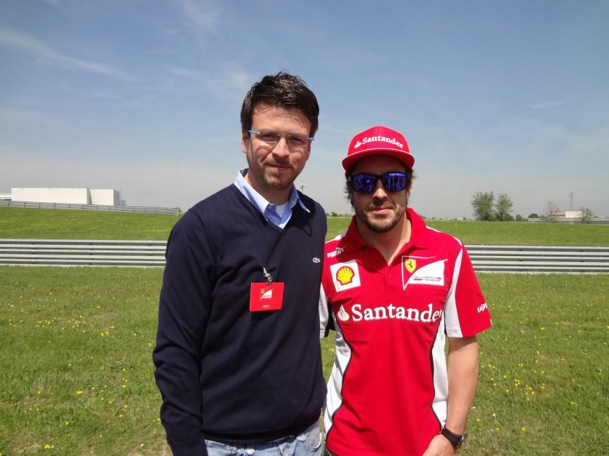 @DMerinoF1 & Fernando Alonso