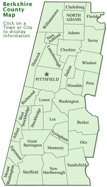 Map Of Berkshires Ma : berkshires, Berkshire, County, World, Atlas