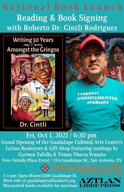 Dr Cintli GCAC Book Launch Flyer