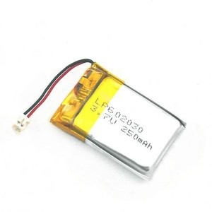 Lipo Battery (602030) 3.7V 250mAh with PCM - iBestPower-Battery Supplier
