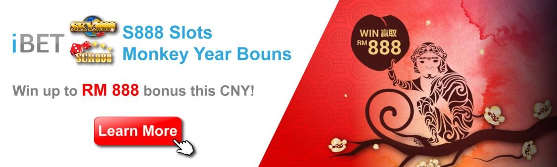 S888 Slot Game Golden Monkey Bonus