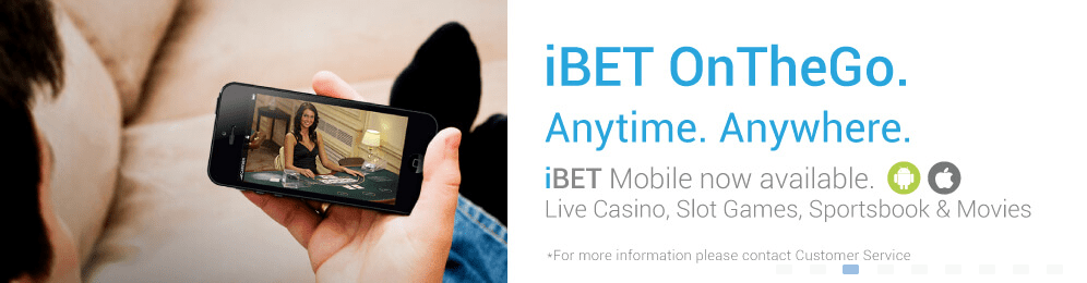 iBET on the go. anytime. anywhere.