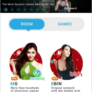 """3. A successful login will bring you to the """"Home"""" page. You can immediately enjoy the entertainment available on iBET Mobile."""