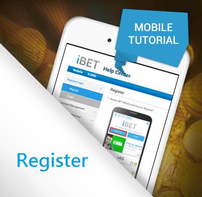Malaysia Best Casino iBET, Mobile Tutorial - Register!