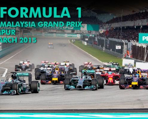 8 x F1 2015 Malaysian Grand Prix Gold Club Suite To Be Won! ( iBET Malaysia)