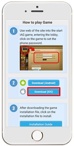 Installing iAG on iPHONE (iOS)-step 6