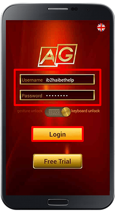 Installing iAG on Android-step 14