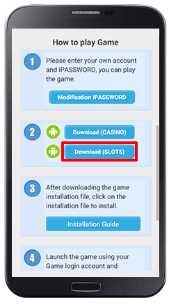 Installing iPT on Android Slot Games-step 6