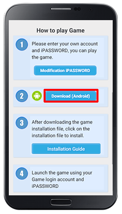 Installing iCASINO++ on Android-step 6