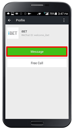Customer Service WeChat-step 6