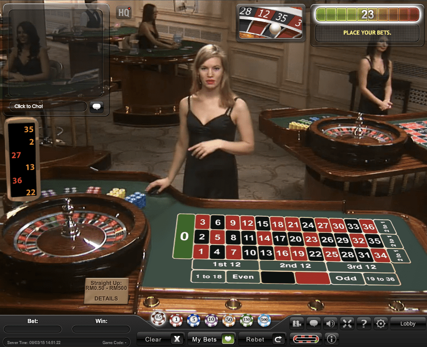 iPT Live Casino products