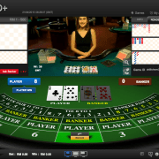 iBET's partner iCASINO + (HoGaming) baccarat game