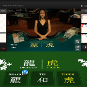 iBET iCASINO+(HoGaming) Dragon Tiger game video with High definition
