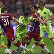 Champions League Bayern Munich 3:2 Barcelona Football Highlights 13/05/2015 by iBET