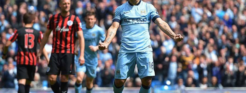EPL Bola Sepak Manchester City 6:0 QPR Football Highlights HD 10/5/2015 by iBET