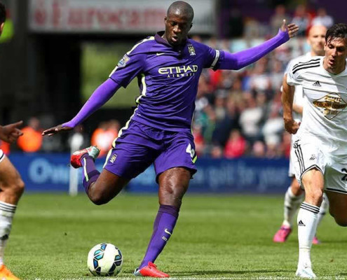 EPL Swansea City 2-4 Manchester City 17/5/2015 Bola Sepak Highlights by iBET