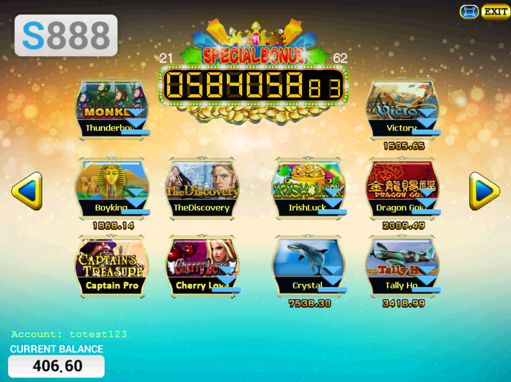 S888 (Scr888, Sky888) New Slot Games Hall & Online Casino by iBET