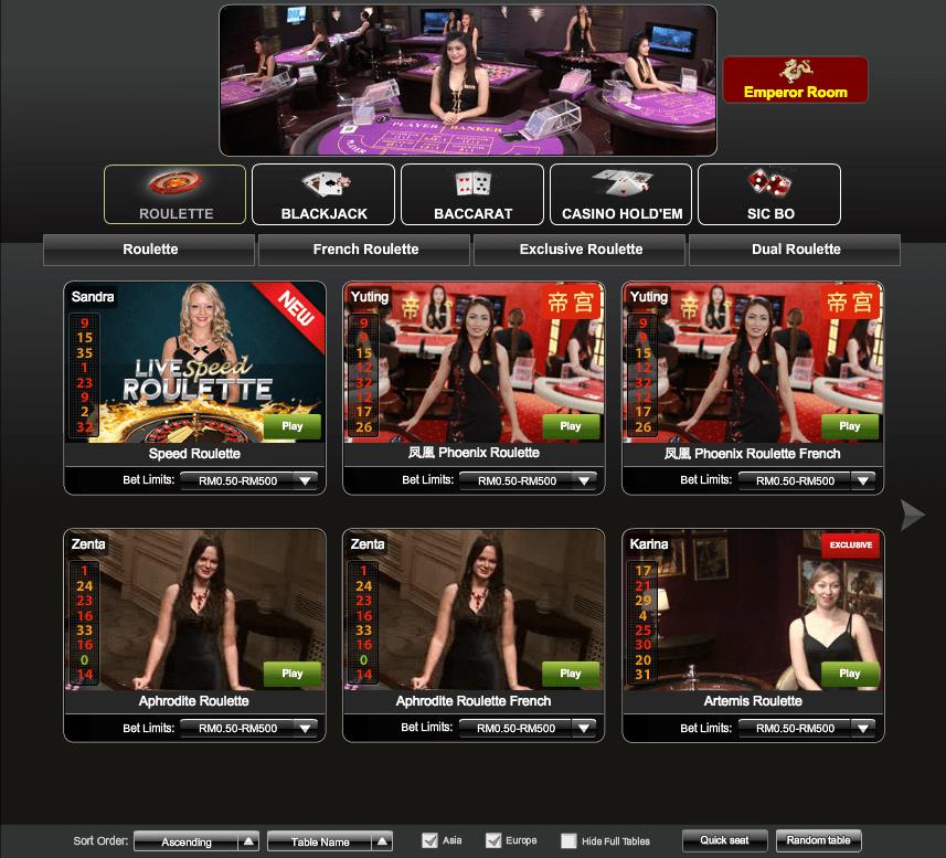 iPT Newtown Live Casino