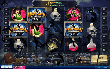 Play Halloween Fortune 2 Online at Casino.com Australia
