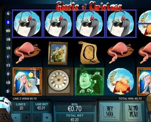 Malaysia Ghosts of Christmas iBET SKY888 Slot Game