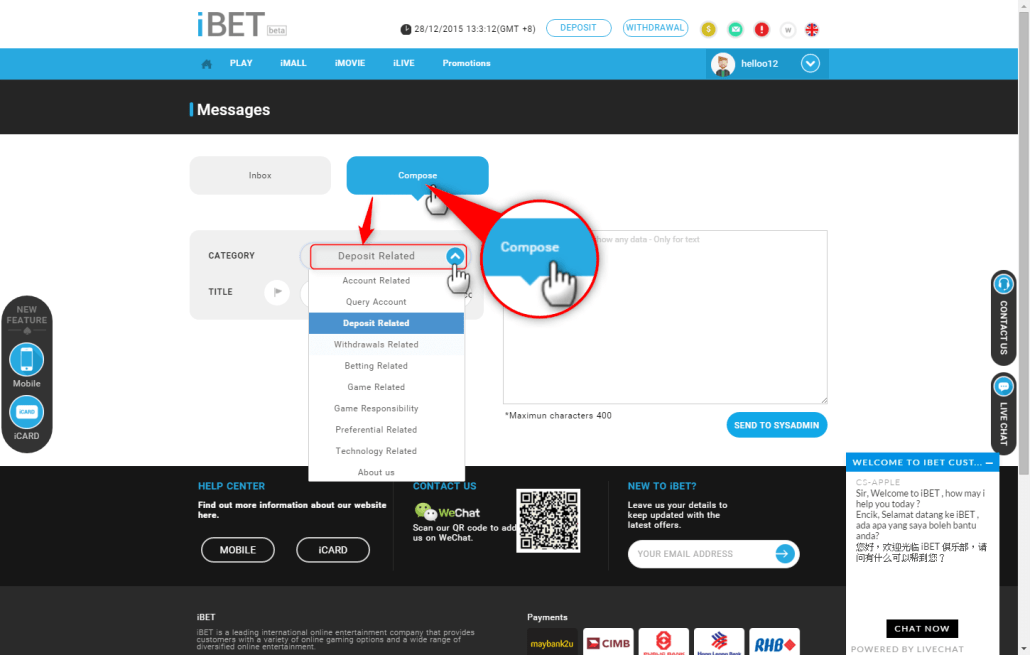 How New iBET Version Help Me to Solve My Problem-5