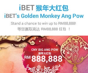 iBET Big Ang Pow Bonanza! Win RM88,888 Cash Reward picture
