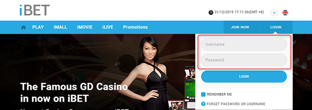 How to use Cash Card in iBET Online Casino Malaysia-1
